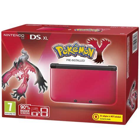Y 3ds Nintendo nintendo 3ds xl and black console includes y consoles zavvi