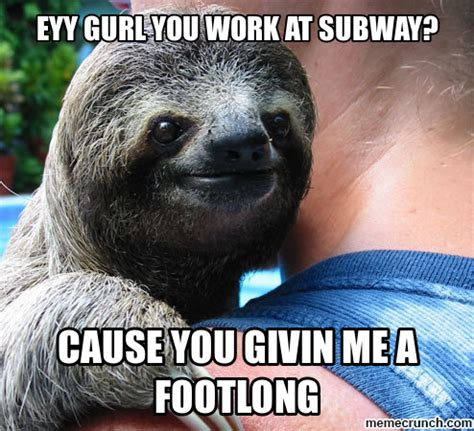 Pervert Meme - perverted sloth