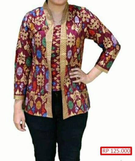 desain baju batik sarawak 100 gambar baju batik kerja terkini dengan blus batik