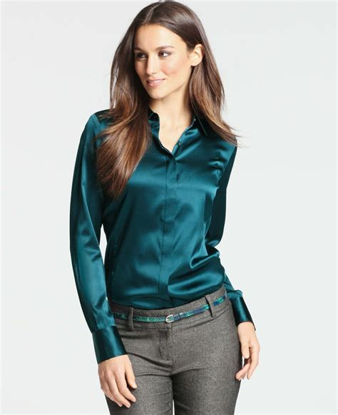 Travis Blouse pin by travis clark on satin blouses satin