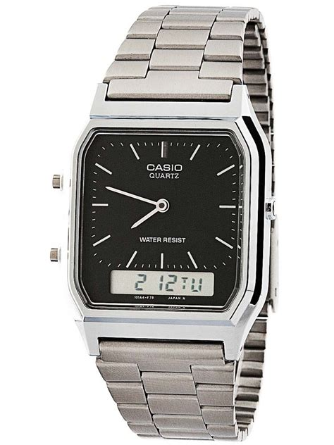 Adidas Digital Waterresist casio mens duo display collection aq 230a 1dmqyes