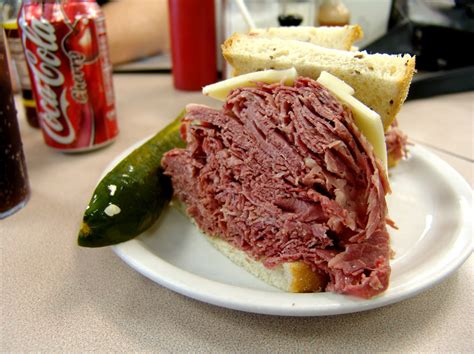 cleveland cuisine important corned beef sandwiches a continuous lean