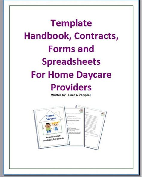 family day care parent handbook template home the o jays and website on