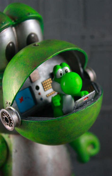 yoshi robot deserves   video game