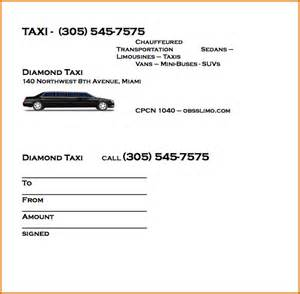 8 taxi receipt template authorizationletters org