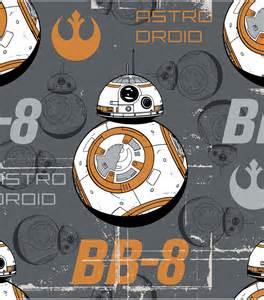 star wars vii bb8 fleece fabric jo ann