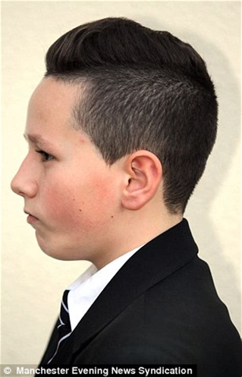 salford boy banned from school over extreme haircut inspired by lewis kenny i biography