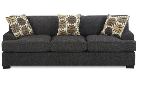 poundex montreal iv f7447 grey fabric sofa a sofa