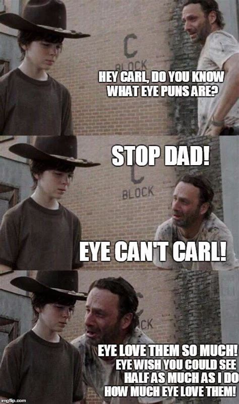 Rick And Carl Meme - the walking dead first 2 6b episodes give us great memes