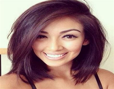 Best Shoulder Length Hairstyles For Oval Faces   HairStyles