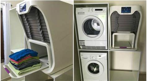 Cuci Kering Setrika hebat mesin ini bisa menyetrika dan melipat baju global liputan6