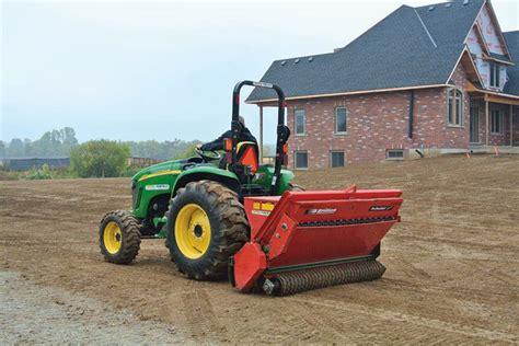 Landscape Rock Vacuum Rental Grass Seeders Overseeders Aerator Rentals Ontario
