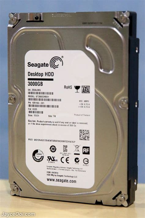 Hdd 3tb Seagate seagate desktop hdd 3tb review jayceooi