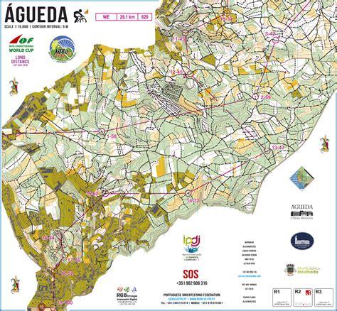 distance maps portuguese orienteering wmtboc 2016 distance maps