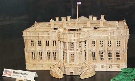 toothpick house toothpick house toothpick white house precise toothpick art pinterest white houses and house