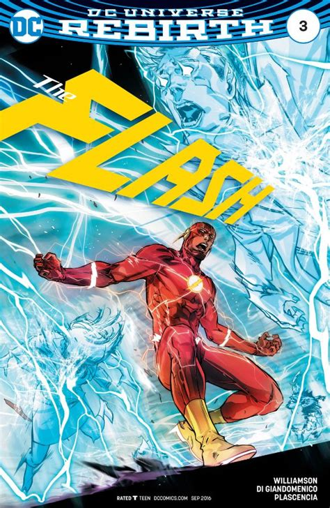 The Flash Rebirth the flash rebirth 3 review get your comic on