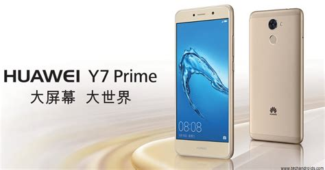 Eco Huawei Y7 Prime 4 Plus Enjoy 7 Plus 5 5 Inchi Ume 360 S huawei y7 prime is official with 4000mah battery techandroids