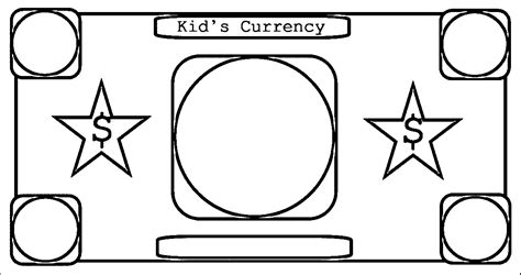 paper money coloring pages printable coloring pages