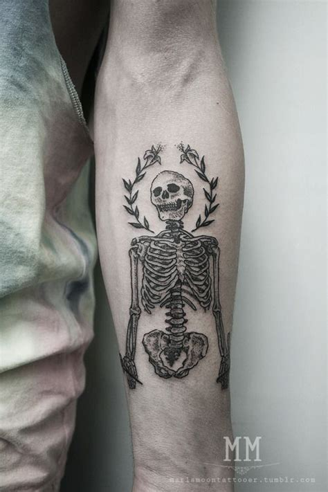 tattoo ink types 40 skeleton tattoo designs and more different types of