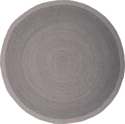 runder kinderteppich runder kinderteppich in grau tapis halo 100 wolle 90