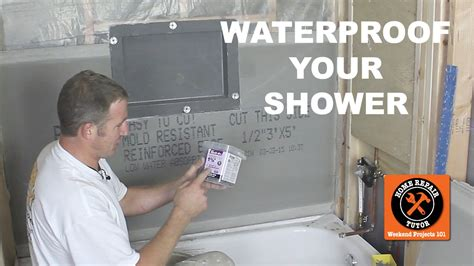 How To Remove Old Bathtub How To Waterproof A Shower 3 Awesome Methods By