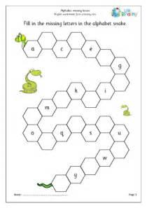 alphabet missing letters english worksheet for key stage 1