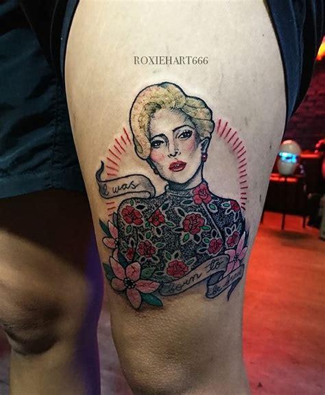roxiehart666 lady gaga tattoo roxiehart666 tattoo