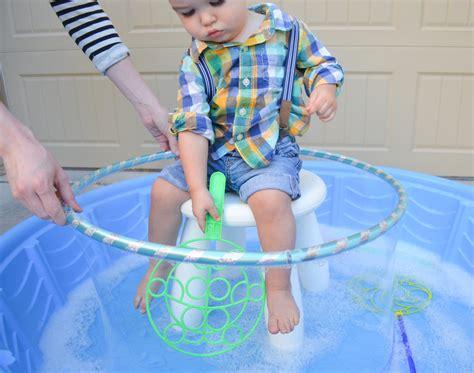 backyard bubble a diy outdoor bubble station project nursery