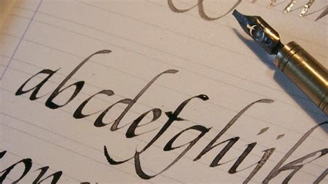 diversi tipi di scrittura calligrafia l arte della scrittura