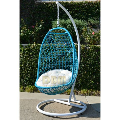 swinging egg outdoor wicker chair wicker rattan swing bed chair weaved egg shape hanging