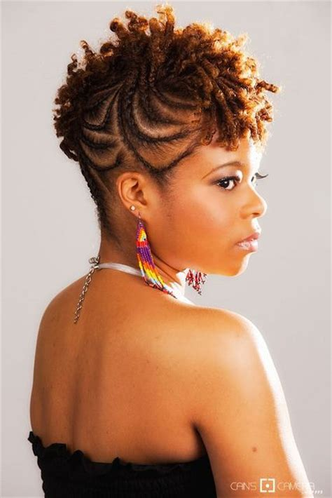 african woman mohawk meaning tight side braid short mohawk and african men on pinterest