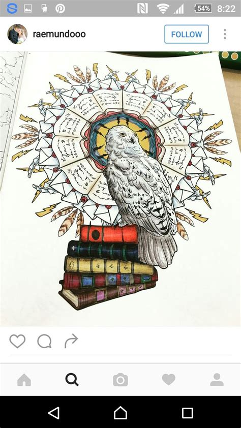 harry potter coloring book finished 334 best coloring pages images on