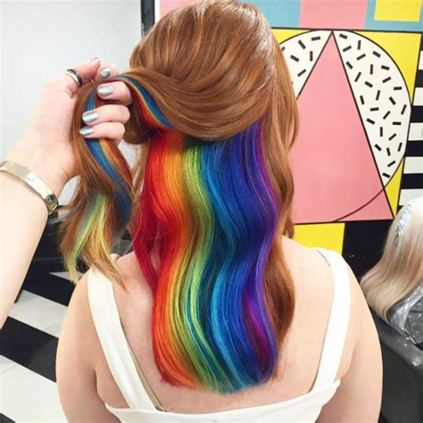 pictures of people who colored their hair with loreal feria b16 cheveux arc en ciel la nouvelle tendance coiffure 2016