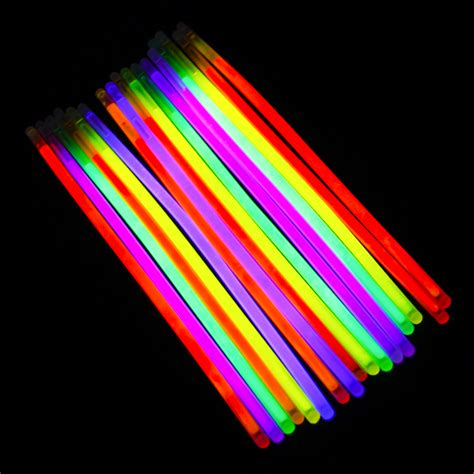 Light Stick - glow stick light up bracelet necklace 8in 9 colors premium