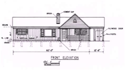plan of a house with dimensions simple floor plan of a house with dimensions youtube