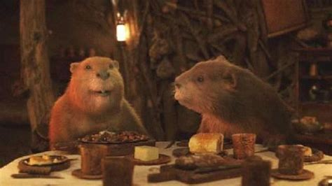 narnia movie heroine photos mr and mrs beaver narnia pinterest so cute