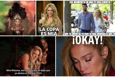 shakira clausura del mundial 2014 brasil lalala youtube el paso de shakira por el mundial en memes grupo milenio