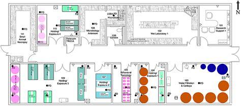 design lean laboratory layout aquatic pathobiology laboratory facilities