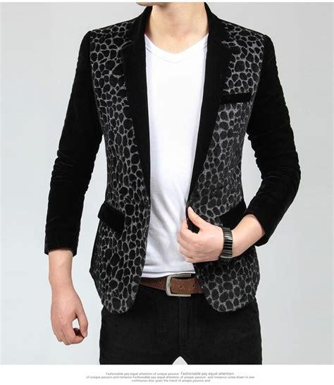 Leopard Blazer Black stunning leopard motif black blazer
