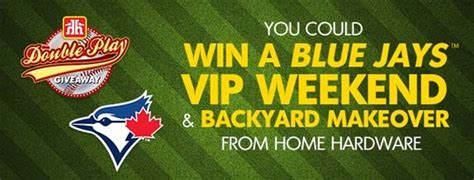 Play From Home Sweepstakes - bluejays com home hardware double play giveaway contest sweepstakes pit