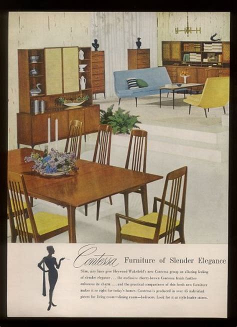 Retro Dining Room Furniture by Retro Dining Room Furniture 1959 Heywood Wakefield