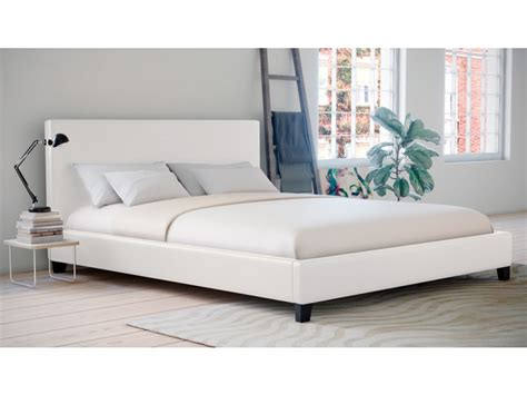 king single size pu leather bed frame arthur collection