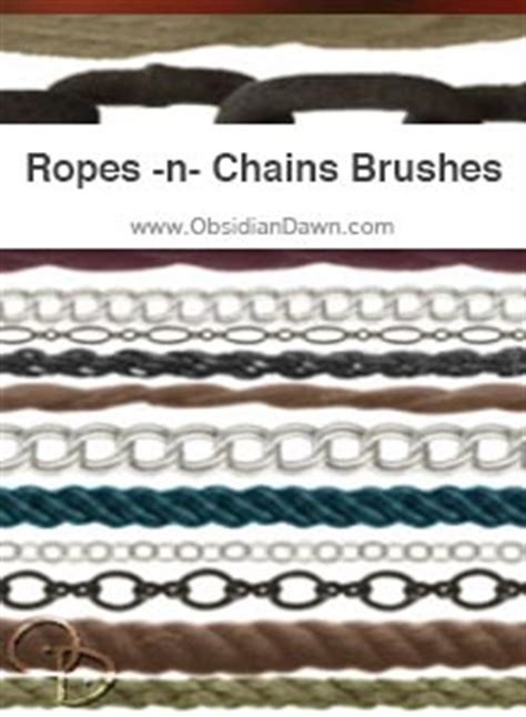 rope pattern brush photoshop ropes n chains photoshop gimp brushes obsidian dawn
