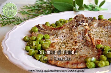 come cucinare le braciole di maiale braciole di maiale in padella ricetta secondo piatto