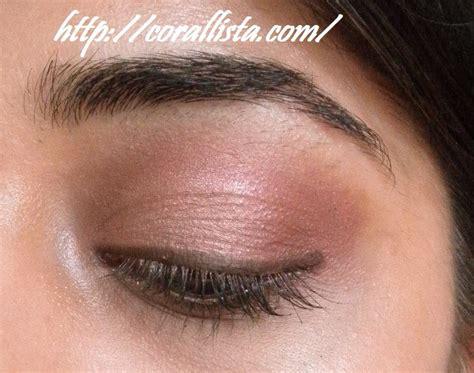 everyday pink brown eye makeup look with mac mac - Pink Brown Eyeshadow