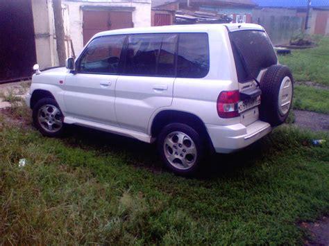 mitsubishi pajero io 2000 used 2000 mitsubishi pajero io photos 1800cc gasoline