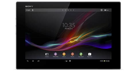 Tablet Sony Z Di Indonesia On With The Sony Xperia Tablet Z