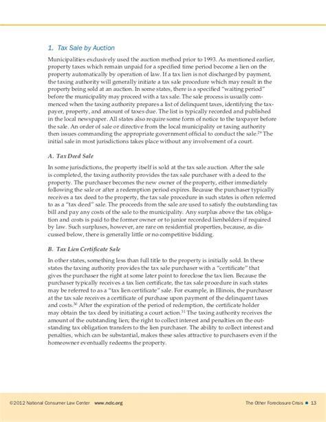 len sale tax lien sales report
