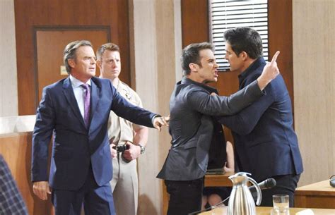 days of our lives spoilers clyde breaks out of prison with xander and days of our lives spoilers chaos breaks out during gabi