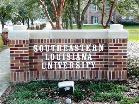 Southeastern Louisiana Mba Program by College Southern College Louisiana